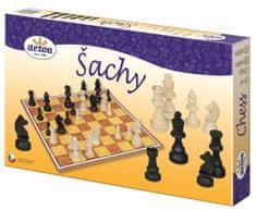 Detoa Šachy dřevo společenská hra