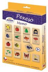 DETOA Memo Domino 40 drewnianych kostek