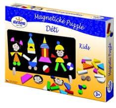DETOA Mágneses puzzle Fajáték