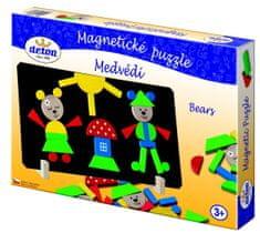 DETOA Medvék Mágneses puzzle