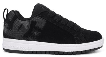 DC Fiú sportcipő Court Graffik B Shoe Bwp ADBS100207-BWP, 35, fekete