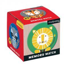 Mudpuppy Mini Memory Game - geometrická zvířata