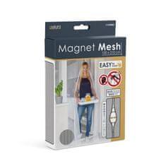 Delight Magnetna zavesa proti komarjem za vrata 100 x 210 cm - bela