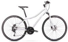 Romet Orkan 4D (2019) cross bicikl, S, bijelo-srebrna