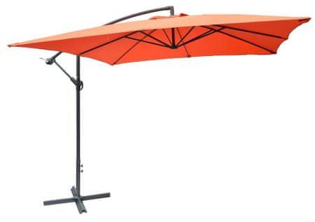 Rojaplast Parasol ogrodowy 8080 (270x270cm) terracotta