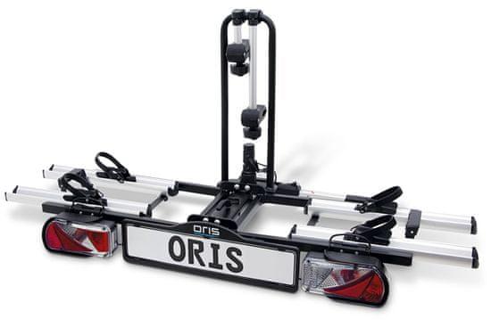 ORIS Tourer nosič kol na tažné zařízení, pro 2 jízdní kola. BOSAL tažná zařízení a nosiče se mění na ORIS. Značka se mění ale kvalita zůstává!