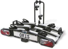 ORIS Traveller III nosič kol na tažné zařízení, pro 3 jízdní kola nebo 2 elektrokola. BOSAL tažná zařízení a nosiče se mění na ORIS.