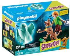 Playmobil 70287 Scooby & Shaggy s duchem