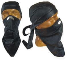 Bikersmode Kožený šátek na nos 1N