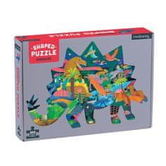 Mudpuppy Tvarované puzzle - Dinosaury / Shaped Puzzle - Dinosaurs (300 dielikov)