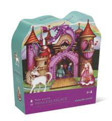 Crocodile Creek Podlahové puzzle princeznin zámok / Floor Puzzle Princess palace