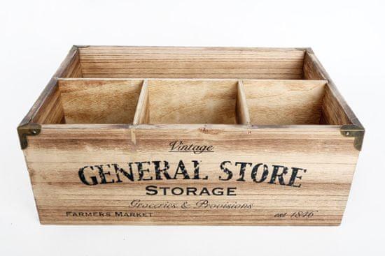 Sifcon Úložný box s přihrádkami, 30 × 20 cm