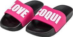 Coqui Lány cipő RUKI 6383 Black/Fuchsia love 6383-512-2205