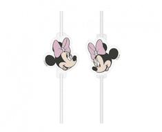 """GoDan Műanyag szívószálak """"Minnie mouse"""" 4 db"""
