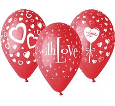 "GoDan Latexové balóny PREMIUM ""LOVE"" - 25 ks"