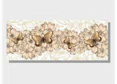 Dimex Obrazy na plátne - Motýľe 100 x 40 cm