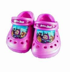 SETINO Dívčí sandály Máša a medvěd - světle růžová