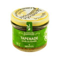 Méditéa Tapenáda zo zelených olív s bazalkou, 90g