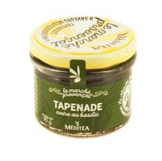 MEDITEA Tapenáda z čiernych olív s bazalkou, 90g