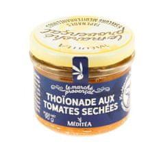 "Méditéa  Francúzska špecialita z tuniaka ""Thoinade"" so sušenými paradajkami, 90g"