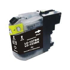 LED-nice Brother LC-123BK LC123BK černá kompatibilní