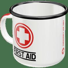Postershop metalna šalica First Aid