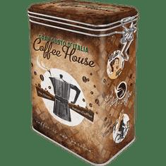 Postershop metalna limenka sa kopčom Coffee House