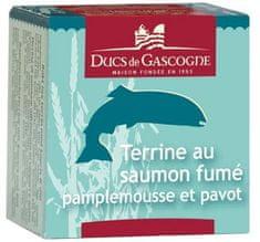 Ducs de Gascogne Terina z údeného lososa s grapefruitom a makom, 65g