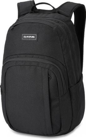 Dakine Campus M 25L Black fekete uniszex hátizsák