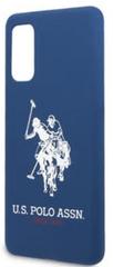 U.S. Polo Assn. Silikonový Kryt pro Samsung Galaxy S20 Navy (USHCS62SLHRNV)