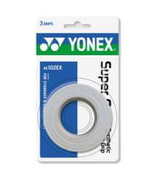 Yonex Mesh Grap oprijemljiv trak AC-126, 3 ovoji, bel