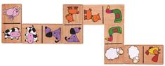 Viga Dřevěné domino - domácí zvířátka