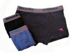 N.A.I. Diadora 5269 pánské boxerky Barva: šedá, Velikost oblečení: S/M