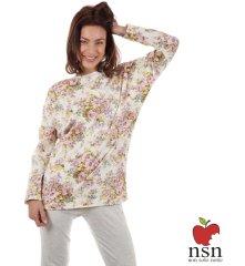 NSN 15039 dámské pyžamo Barva: smetanová, Velikost oblečení: L