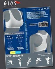 GIOS Jump dámská sportovní podprsenka Barva: bílá, Velikost oblečení: L