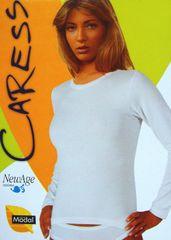 Newage NewAge 1404 dámské tričko dlouhý rukáv Barva: bílá, Velikost oblečení: S