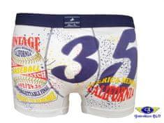 Gasoline Blu 4564 pánské boxerky Barva: bílá, Velikost oblečení: L