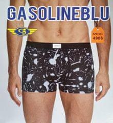 Gasoline Blu 4906 pánské boxerky Barva: šedá, Velikost oblečení: M