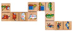 Viga Dřevěné domino - auta
