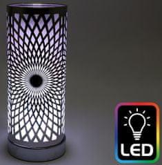 Sifcon Aromalampa s LED podsvietením KALEIDOSKOP, 25,5 cm