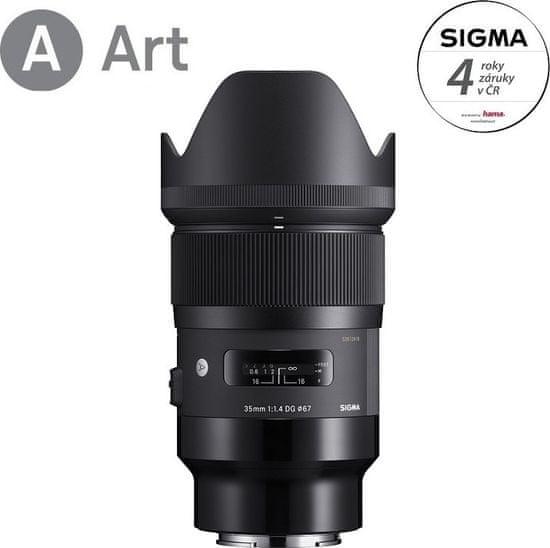 Sigma 35/1,4 DG HSM ART pre Sony E mount (4 roky záruka)