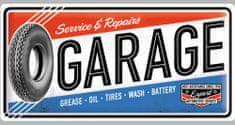 Postershop metalni znak Garage