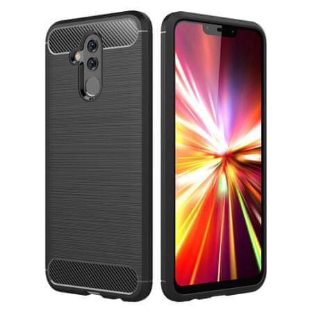 MG szilikon tok Carbon Flexible Huawei Mate 20 Lite, fekete