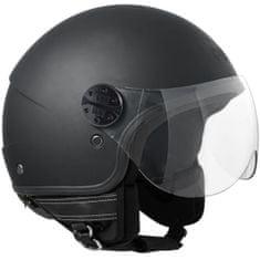 CGM Otevřená přilba moto FLORIDA– černá matná