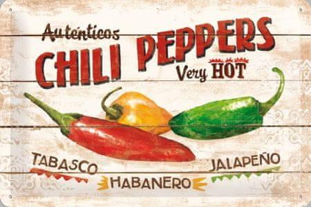Postershop kovinski znak – Chili Peppers