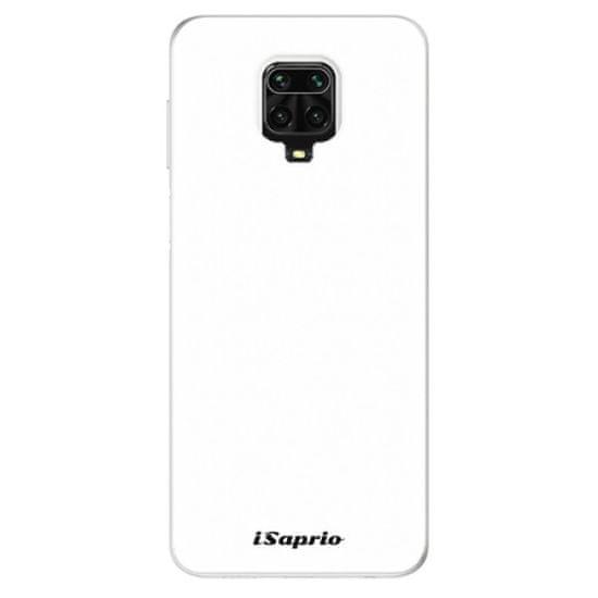 iSaprio Silikonové pouzdro - 4Pure - bílý pro Xiaomi Redmi Note 9 Pro