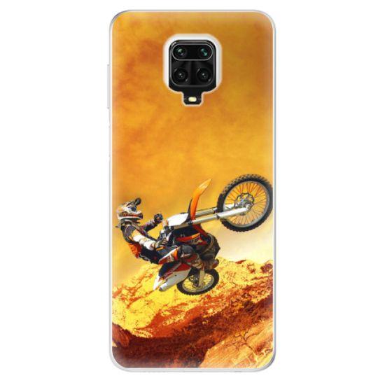 iSaprio Silikónové puzdro - Motocross pre Xiaomi Redmi Note 9 Pro