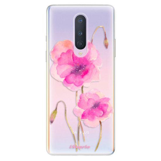 iSaprio Silikonové pouzdro - Poppies 02 pro OnePlus 8
