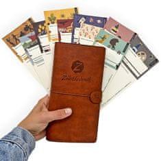 Záložkodeník Čtenářský deník z kreativních záložek (50ks)