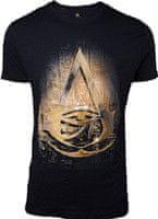 Tričko Assassins Creed: Origins - Hieroglyphics Crest (veľkosť L)